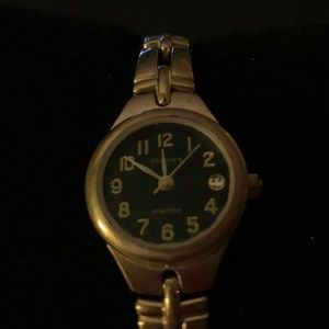 Elgin ll Ladies watch. Gold and Black. 25mm